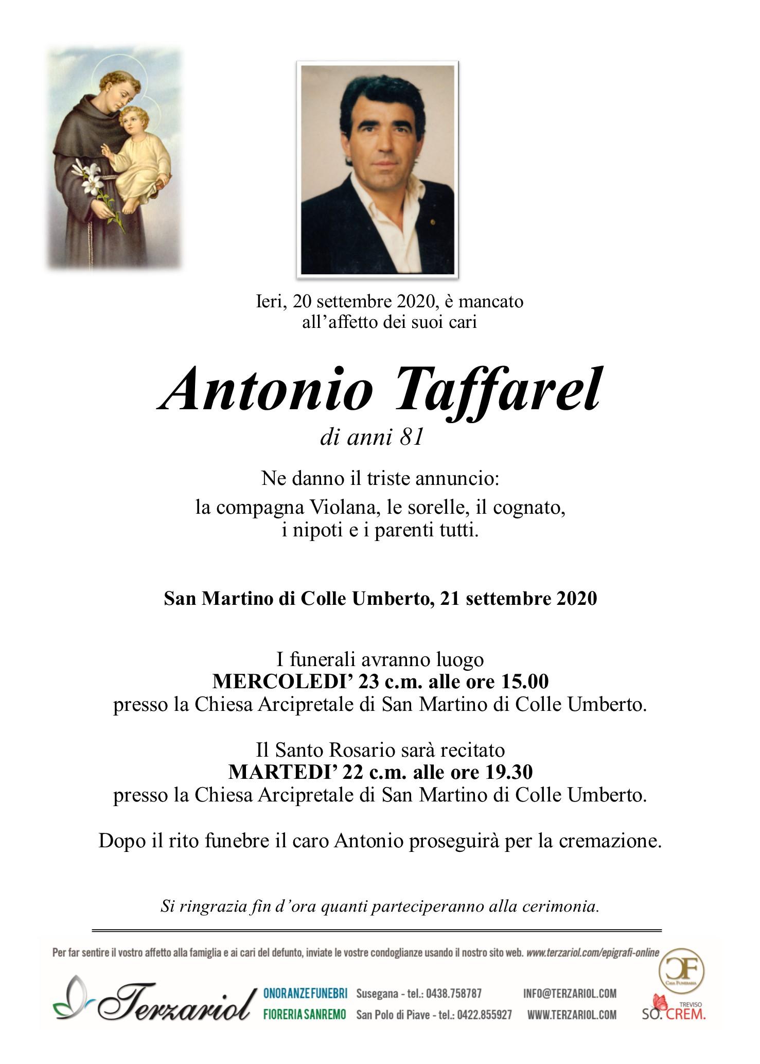 epigrafe Taffarel Antonio